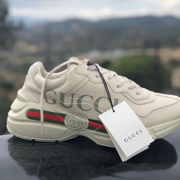 5145a767d07 Gucci Rhyton style sneakers. Men s 11